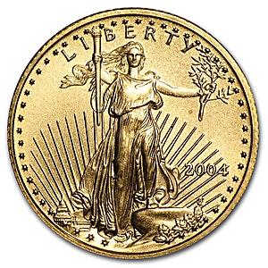 American Gold Eagle 2004 - Proof - 1/4 oz