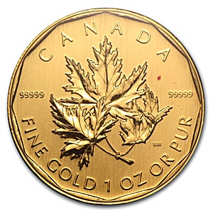 Canadian Gold Double Maple 2007 - 1 oz