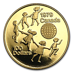 Canada Year of The Child 1979 - 1/2 oz
