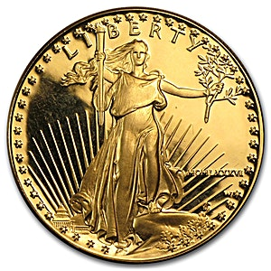 American Gold Eagle 1986 - Proof - 1 oz