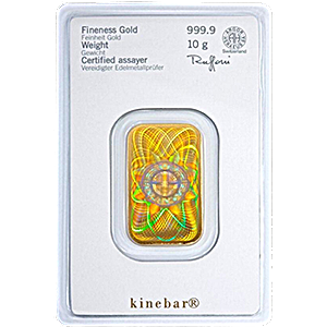 Heraeus Kinebar Gold Bar - 10 g