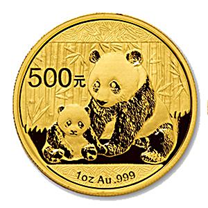 Chinese Gold Panda 2012 - 1 oz