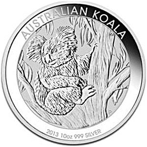 Australian Silver Koala 2013 - 10 oz