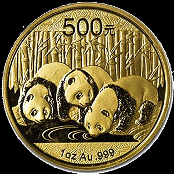 Chinese Gold Panda 2013 - 1 oz