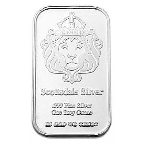 Scottsdale Mint Silver Bar The One - 1 oz