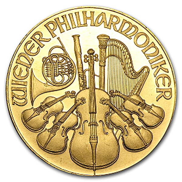 Austrian Gold Philharmonic - Various years - 1 oz