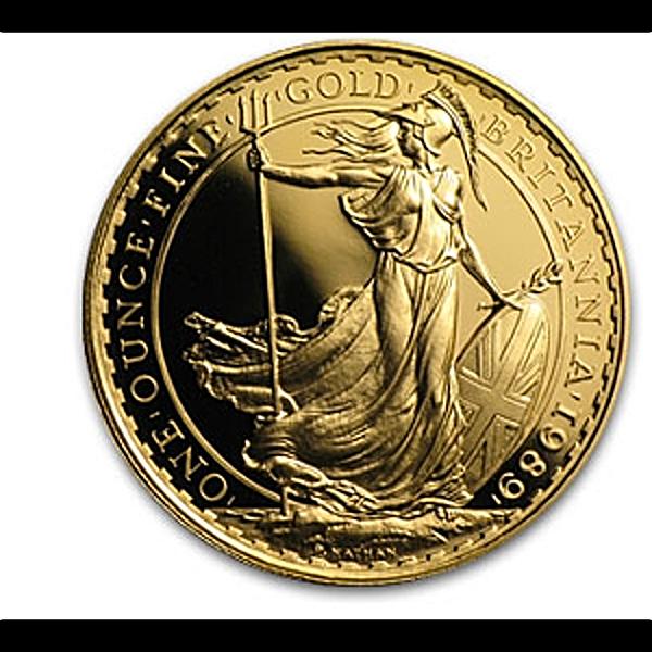 United Kingdom Gold Britannia 1987 - 1 oz