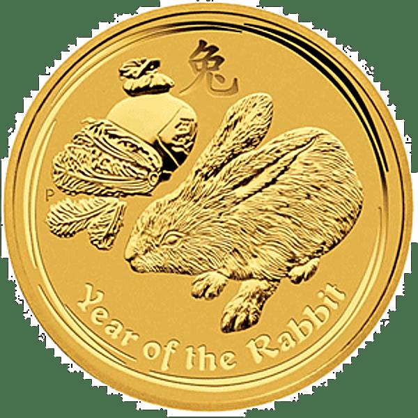 Australian Gold Lunar Series 2011 - Year of the Rabbit - 2 oz