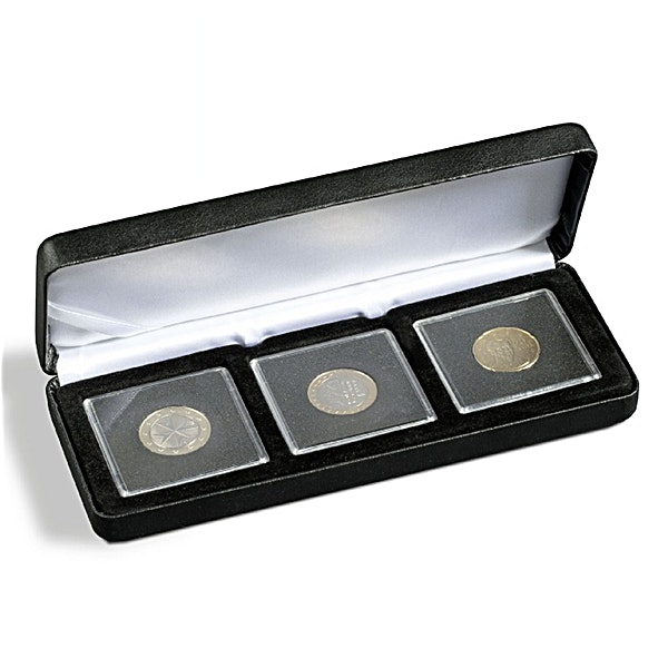 Nobile Coin Box for 3 Quadrum Coin Capsules