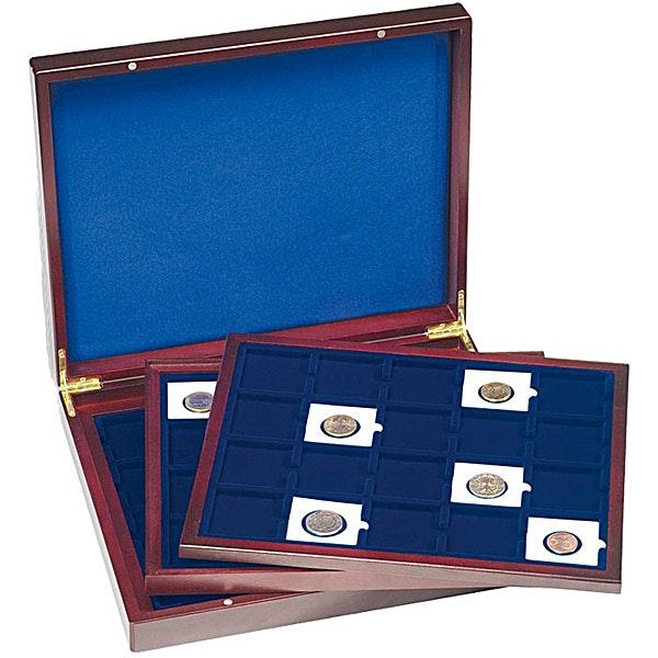 Volterra Trio de Luxe Coin Box for 60 Quadrum Coin Capsules
