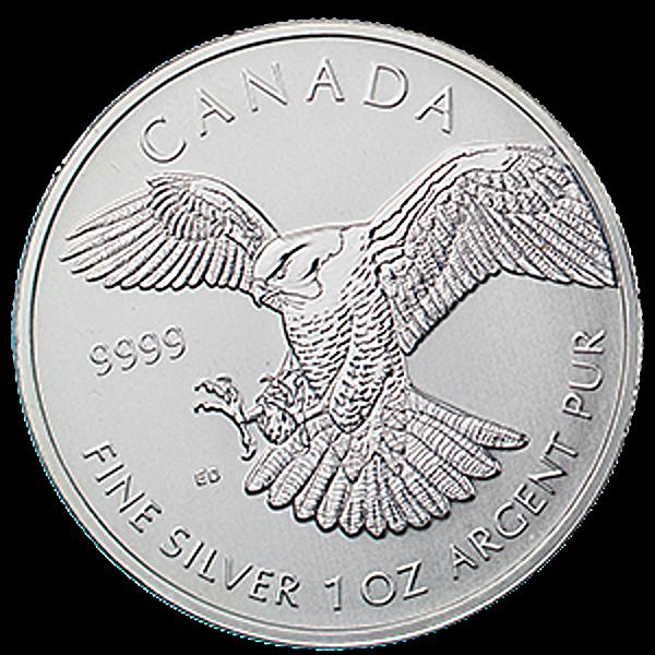 Canadian Peregrine Falcon 2014 - 1 oz