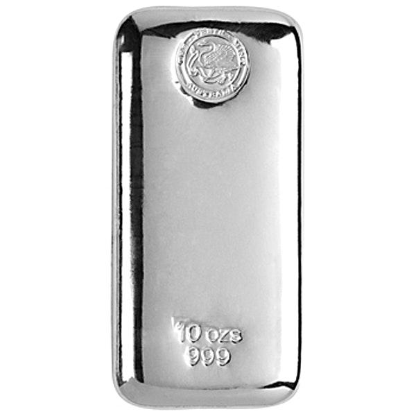 Perth Mint Silver Bar - 10 oz