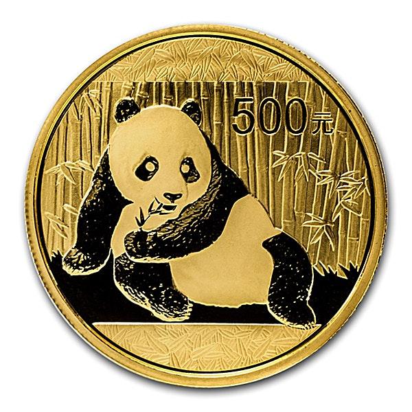 Chinese Gold Panda 2015 - 1 oz