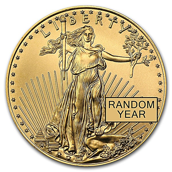 American Gold Eagle - Various Years - 1/4 oz