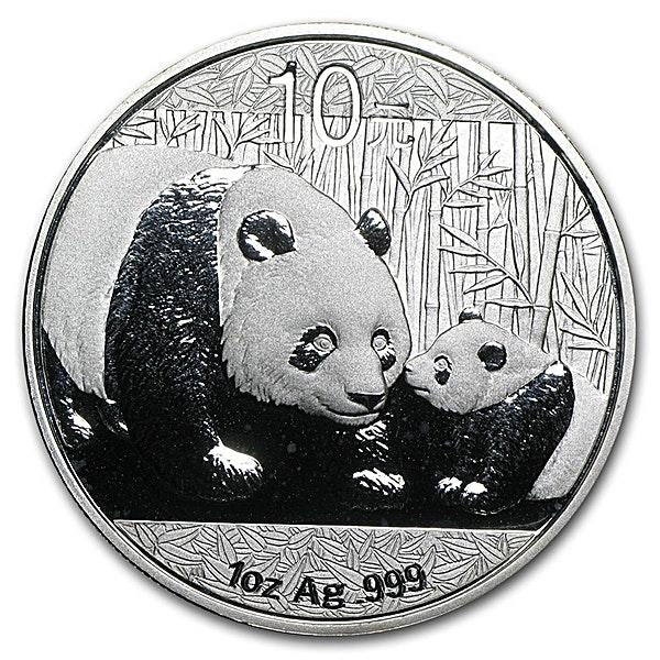 Chinese Silver Panda 2011 - 1 oz