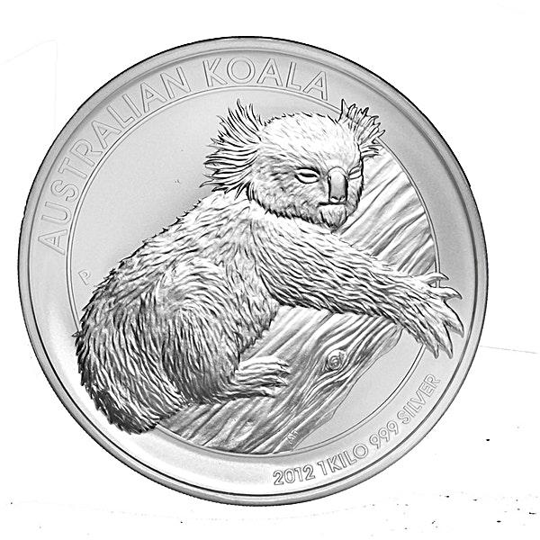 Australian Silver Koala 2012 - 1 kg
