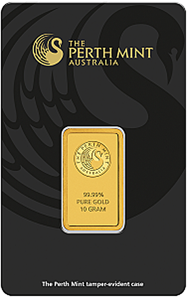 Perth Mint Gold Bar - 10 g