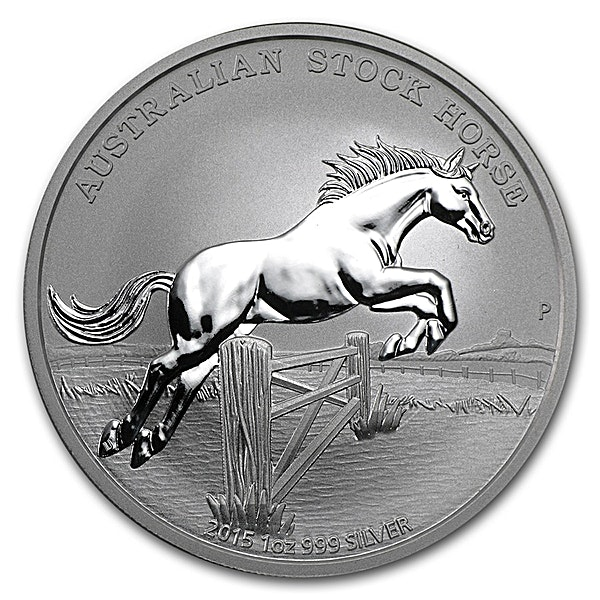 Australian Silver Stock Horse 2015 - 1 oz