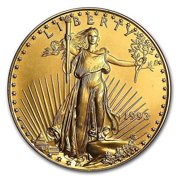 American Gold Eagle - Various Years - 1 oz