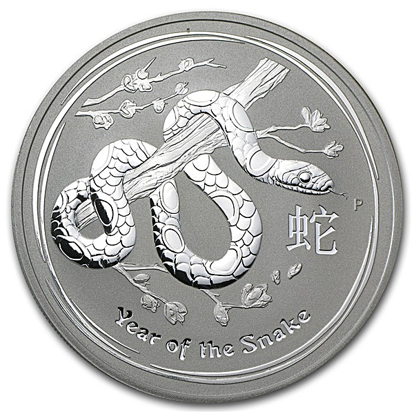Australian Silver Lunar Series 2013 - Year of the Snake - 10 kg