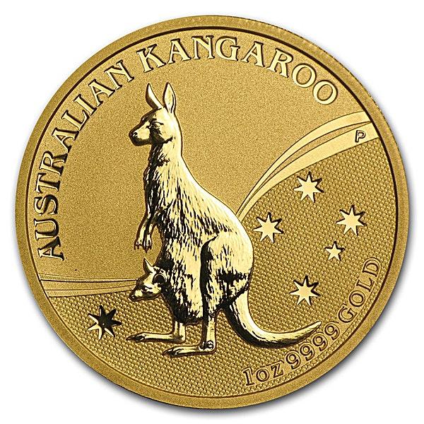 Australian Gold Kangaroo Nugget 2009 - 1 oz
