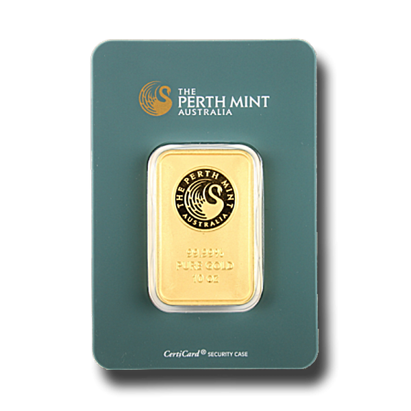 Perth Mint Gold Bar - Green - 10 oz