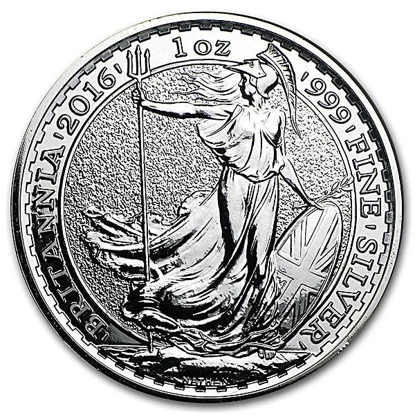 United Kingdom Silver Britannia 2016 - 1 oz