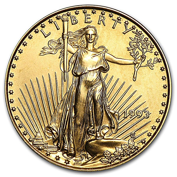 American Gold Eagle 1993 - 1/4 oz