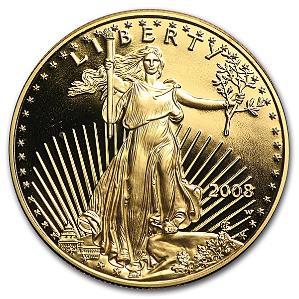 American Gold Eagle 2008 - Proof - 1 oz