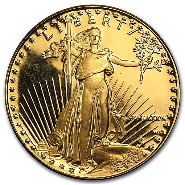 American Gold Eagle 1986 - Proof - 1 oz