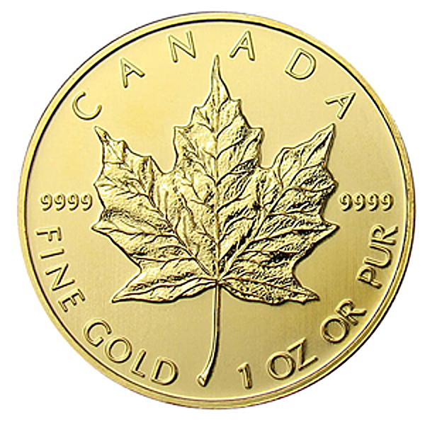 Canadian Gold Maple 2010 - 1 oz
