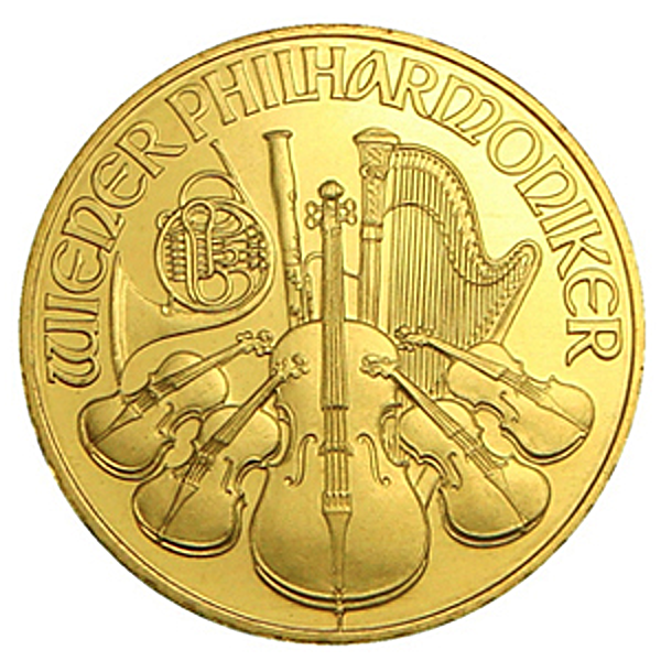 Austrian Gold Philharmonic 2009 - 1/4 oz