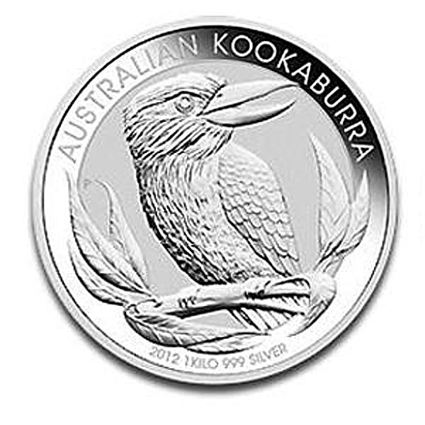 Australian Silver Kookaburra 2012 - 1 kg