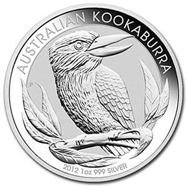 Australian Silver Kookaburra 2012 - 1 oz