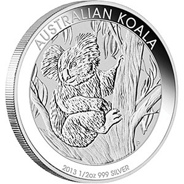 Australian Silver Koala 2013 - 1/2 oz