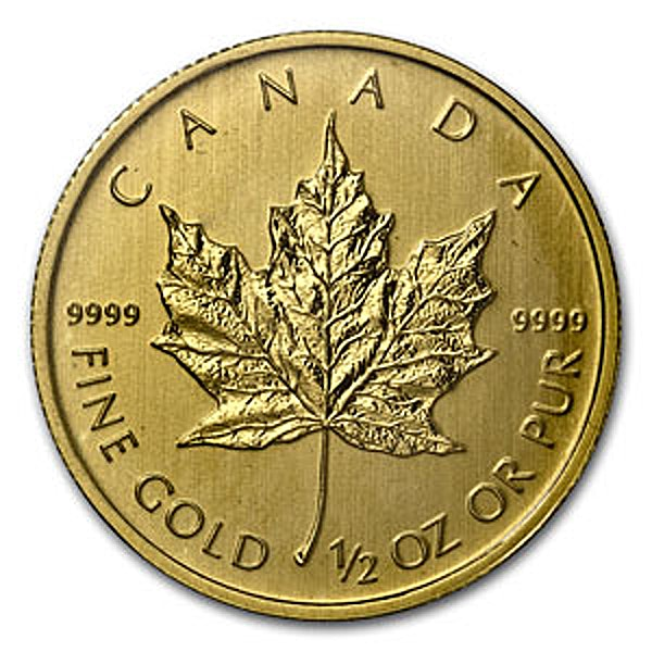 Canadian Gold Maple 2013 - 1/2 oz