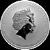 Australian Silver Lunar Series 2013 - Year of the Snake - 1 kg thumbnail