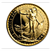 United Kingdom Gold Britannia 1987 - 1 oz thumbnail