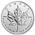 Canadian Platinum Maple Leaf 2015 - 1 oz  thumbnail