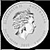 Australian Silver Lunar Series 2015 - Year of the Sheep - 2 oz thumbnail
