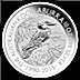 Australian Silver Kookaburra 2015 - 10 oz  thumbnail