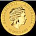 Australian Gold Kangaroo Nugget 2015 - 1/10 oz thumbnail