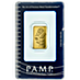 PAMP Gold Bar - 3 tola thumbnail