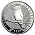 Australian Silver Kookaburra 2009 - 1 kg thumbnail