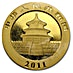 Chinese Gold Panda 2011 - 1 oz thumbnail