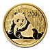 Chinese Gold Panda 2015 - 1/2 oz thumbnail