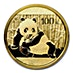 Chinese Gold Panda 2015 - 1/4 oz thumbnail