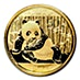 Chinese Gold Panda 2015 - 1/10 oz thumbnail