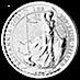 United Kingdom Silver Britannia 2015 - 1 oz  thumbnail