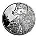 Niue 2015 Silver Lunar Goat - 1 oz thumbnail